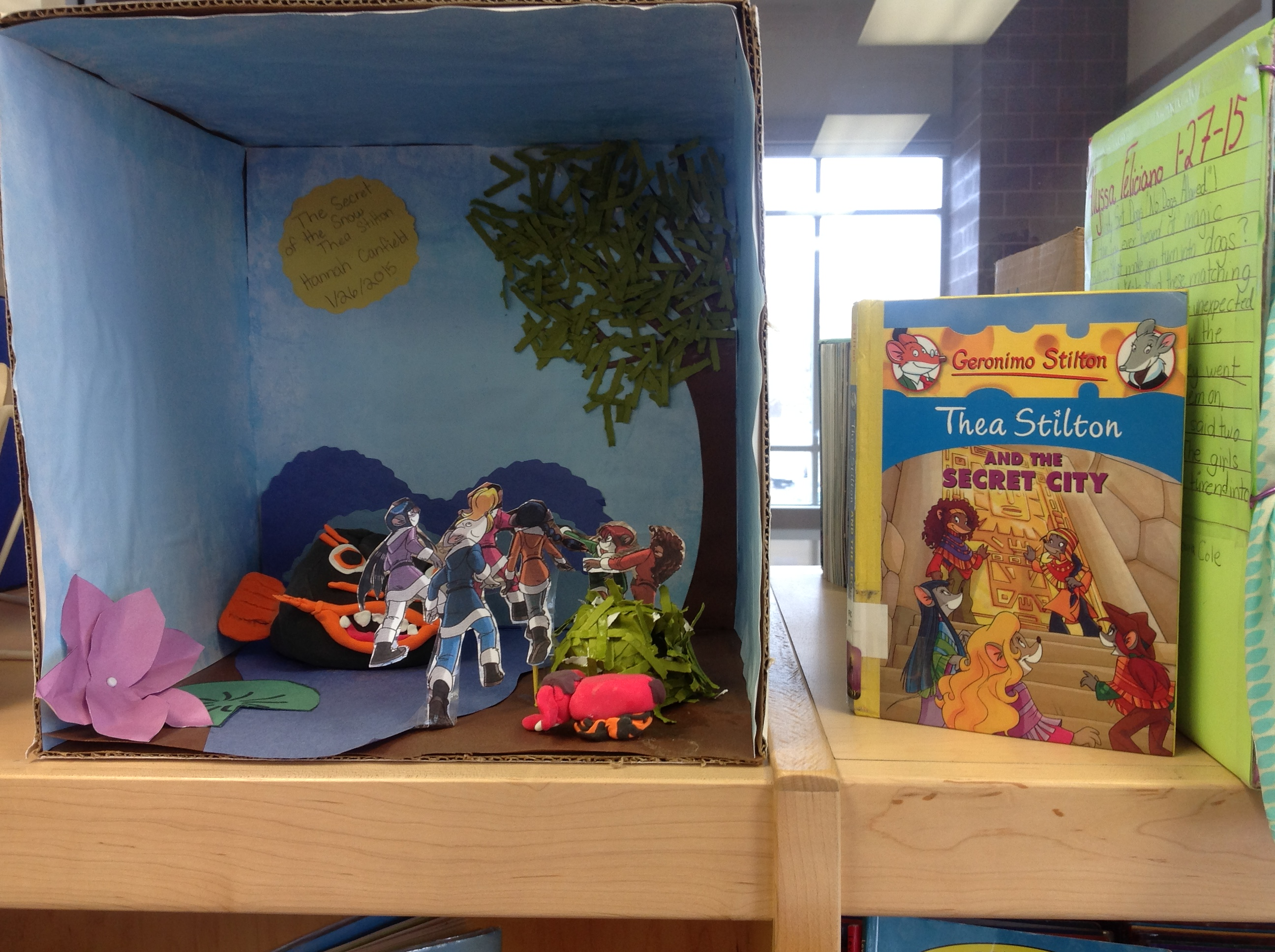 diorama book report project 10 beautiful book dioramas putting your fourth grade project to shame  by remember when you were in middle school and you made that sweet shoebox diorama of.